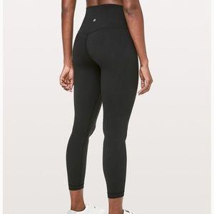 "Lululemon Align Pant 28"" Black Size 4"